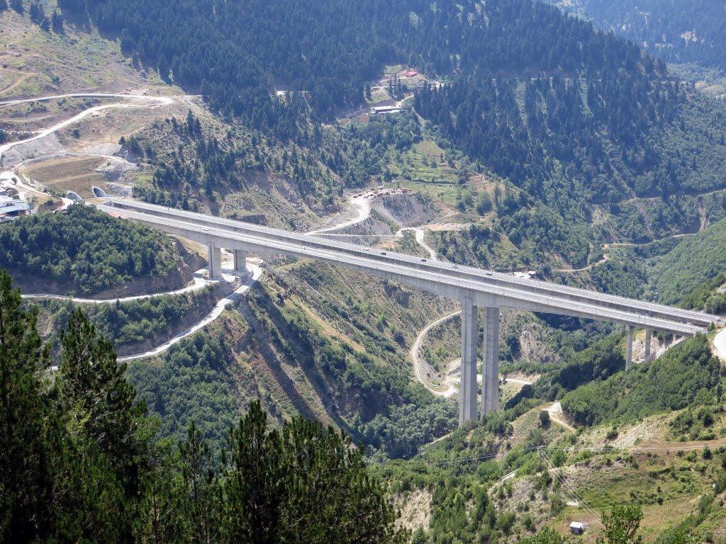 Εγνατία οδός - Γέφυρα Μετσόβου | Mapio.net